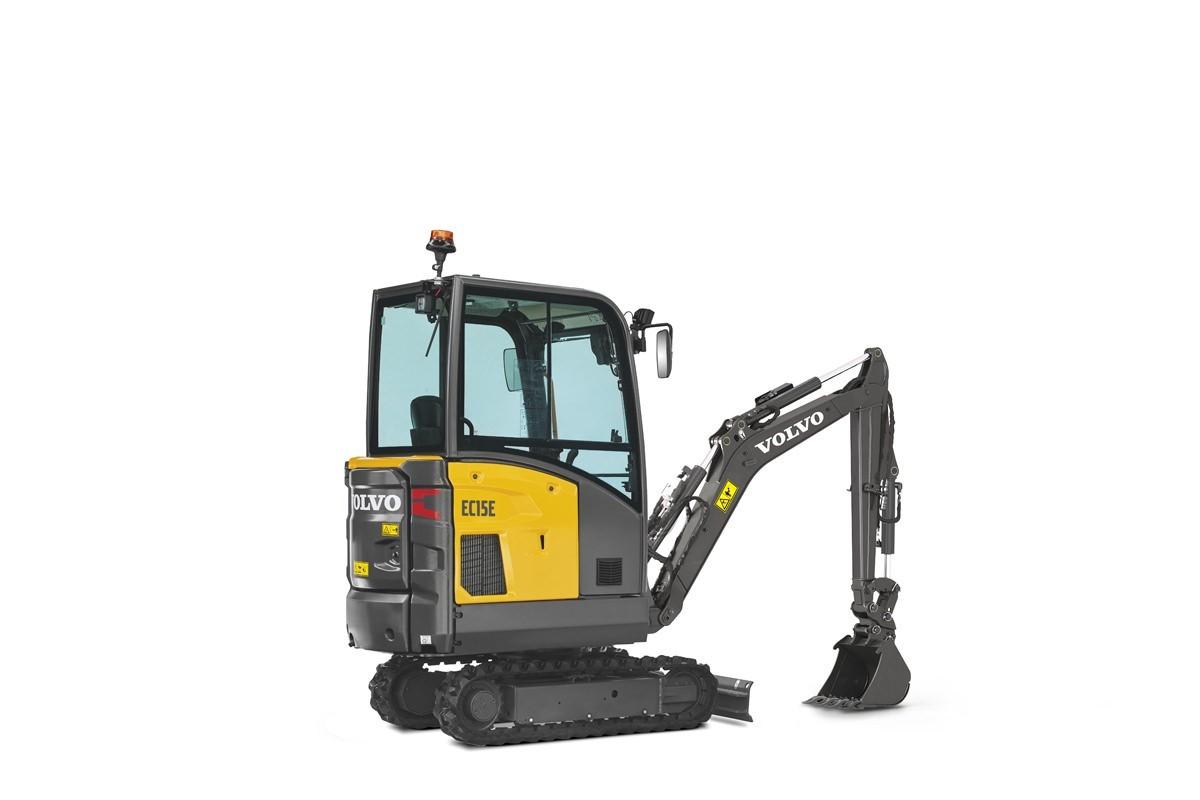 compact excavator Volvo CE EC15E