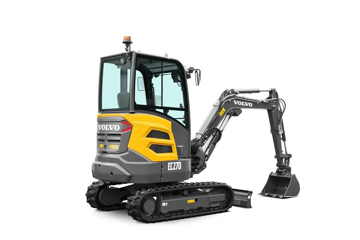compact excavator CE EC27D
