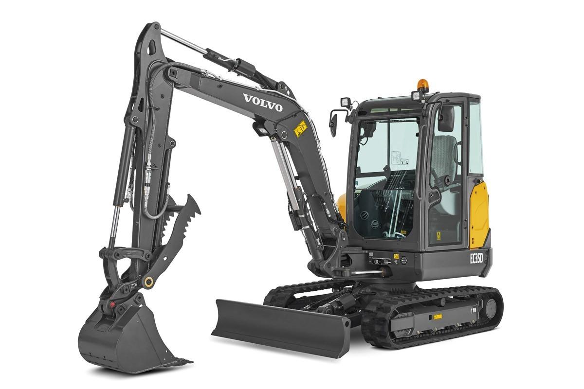 compact excavator Volvo CE EC35D
