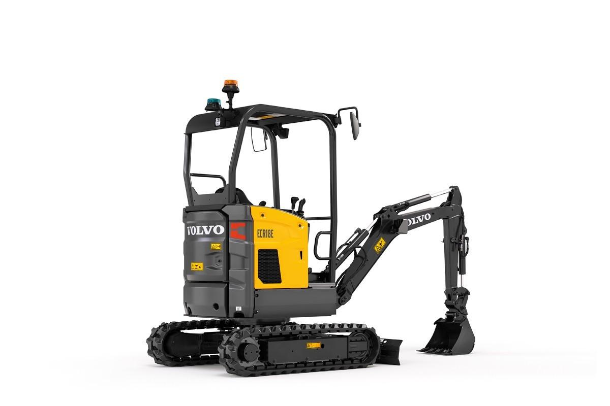 compact excavator Volvo CE ECR18E