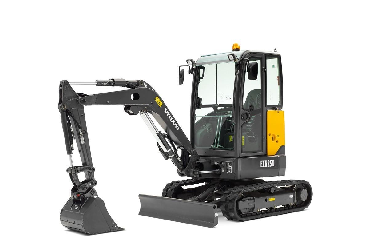 compact excavator Volvo CE ECR25D