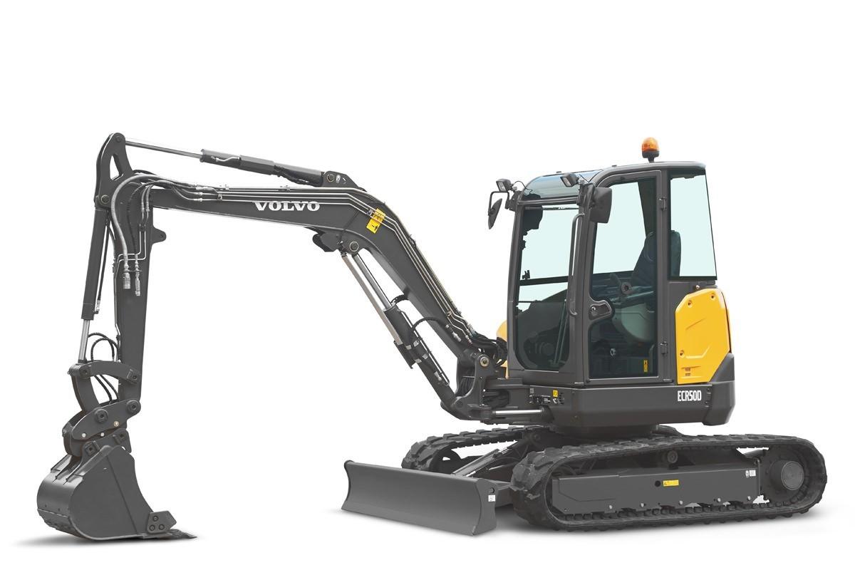 compact excavator Volvo CE ECR50D