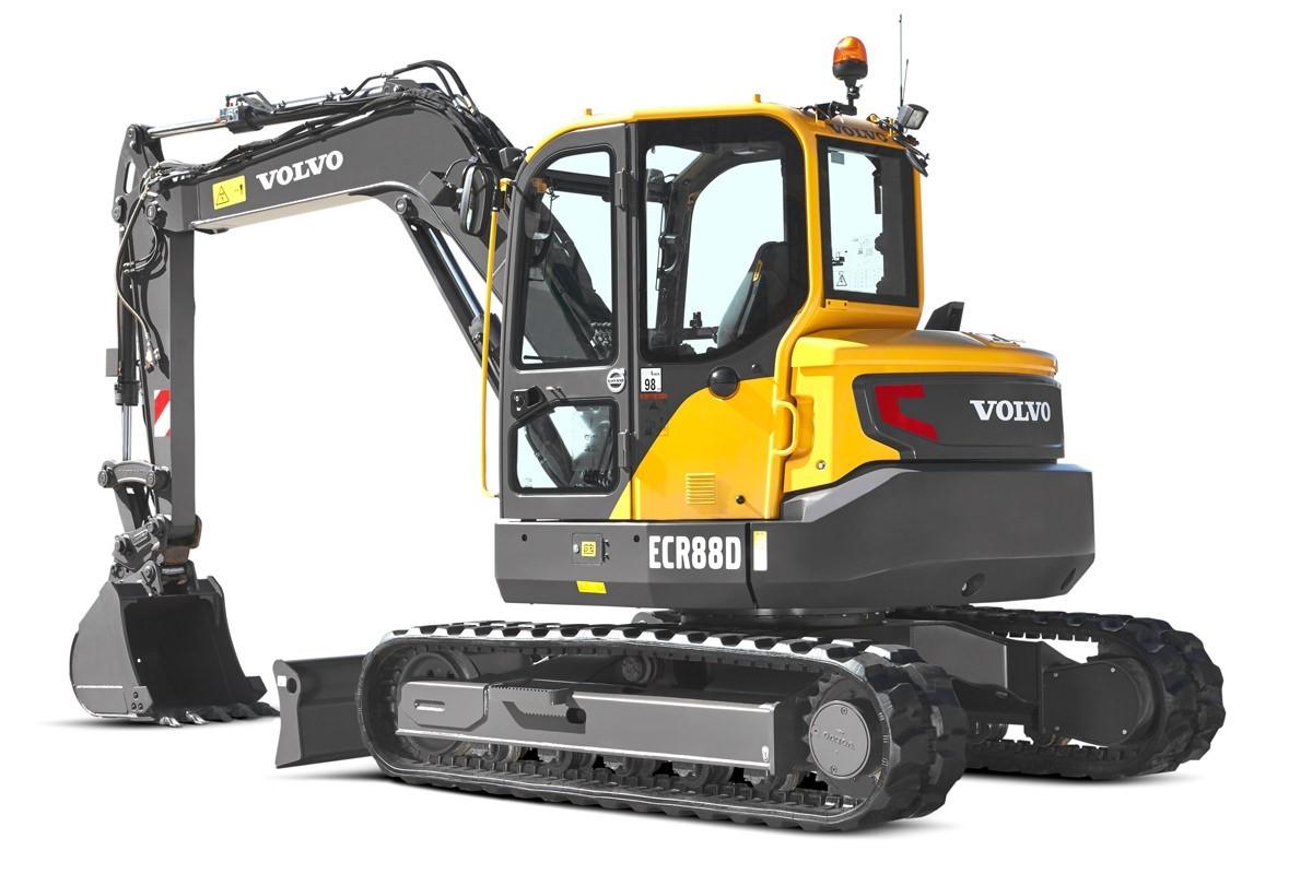 compact excavator Volvo CE ECR88D