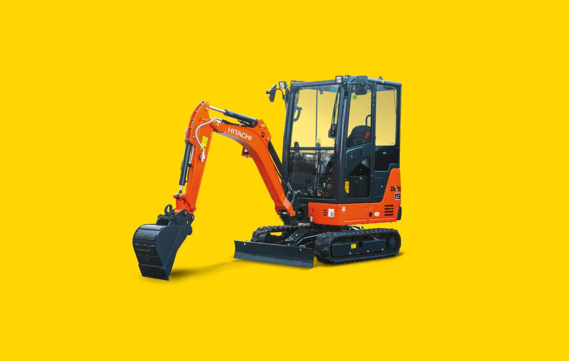 Hitachi compact excavators