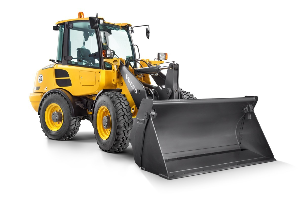 compact wheel loader Volvo CE L28F