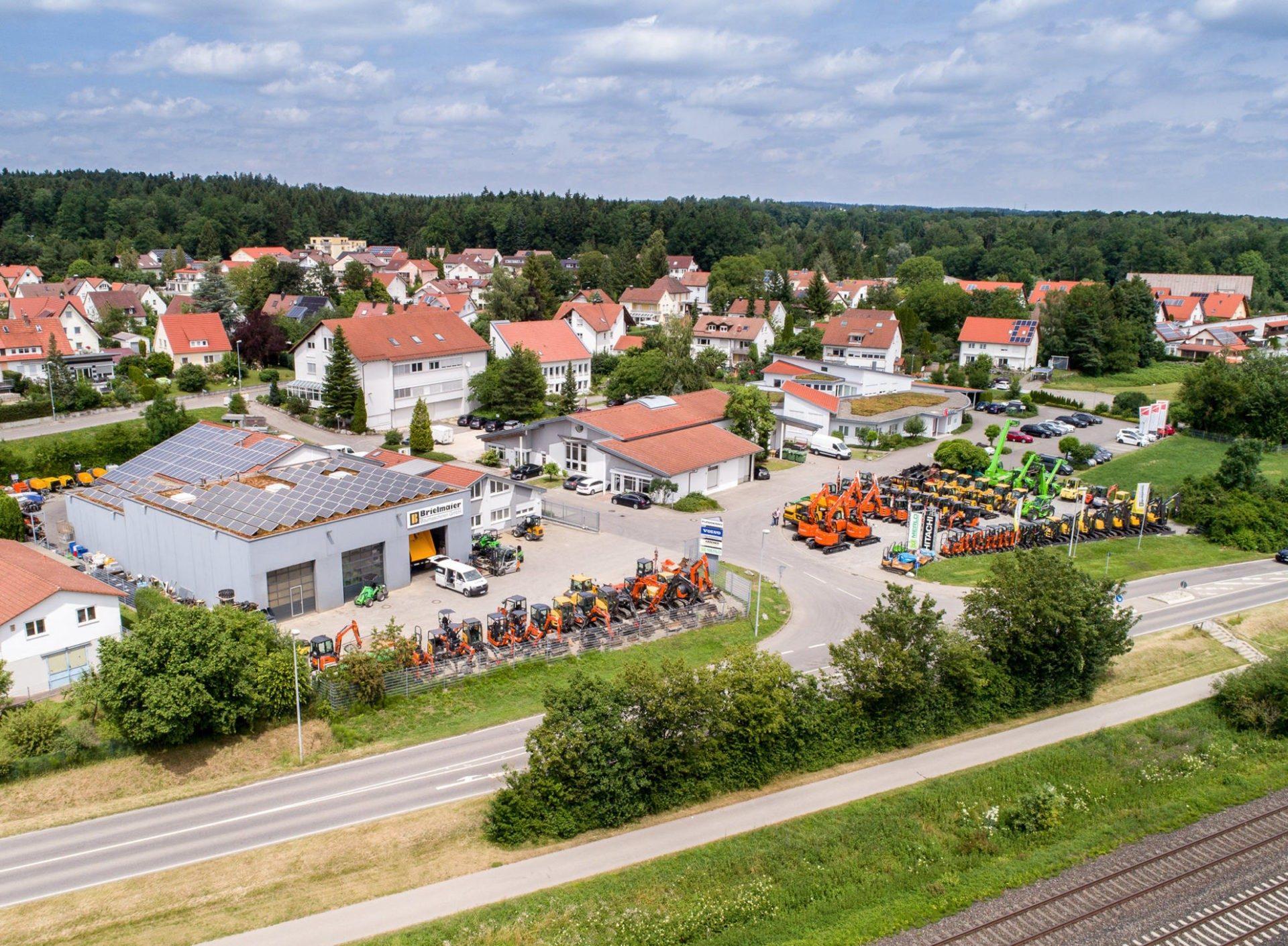 Betriebsgelände Brielmaier Baumaschinen