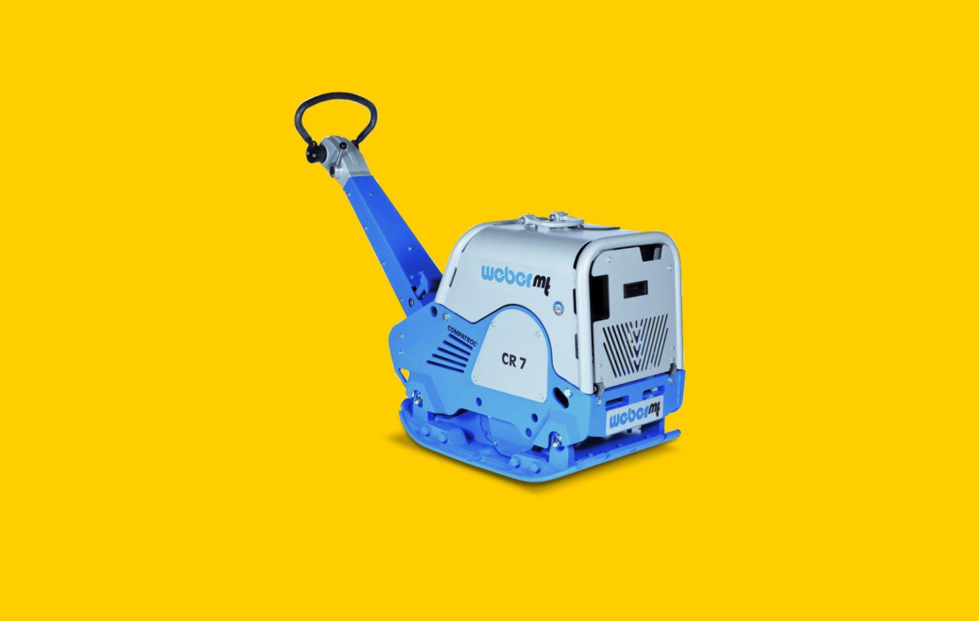 WeberMT handled machines for soil compaction